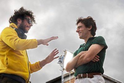 Sydney Sibilia ed Elio Germano